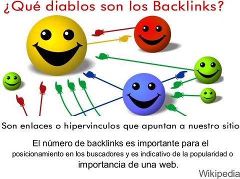 ¿Qué son los backlinks? Son enlaces que apuntan a nuestro sitio.