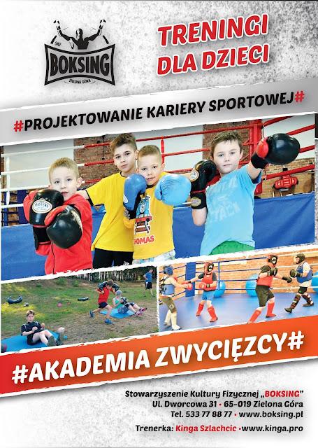 sporty walki, Zielona Góra, trening, kinga.pro, Kinga Szlachcic, sport dzieci