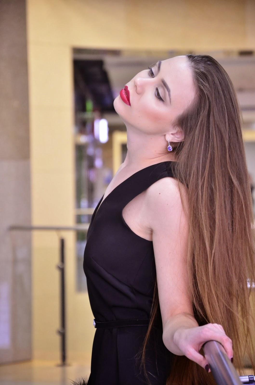 the long hair