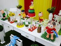 Decoração de festa infantil Turma da Mônica Porto Alegre