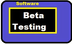 what is software testing and beta versions