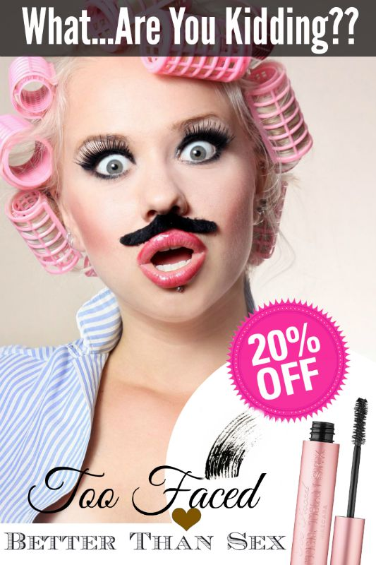 Get 20% off  your Better Than Sex Mascara purchase by Barbie's Beauty Bits