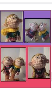 FREE Crochet finger puppet pattern
