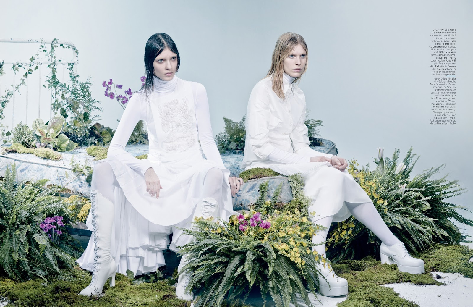 the whites of spring: kati nescher, juliana schurig and iselin ...