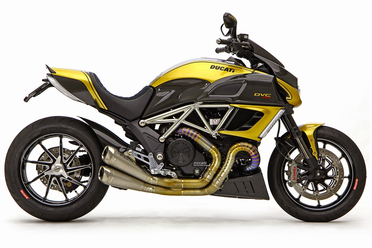 Racing Caf    Ducati Diavel DVC  6 by Moto Corse