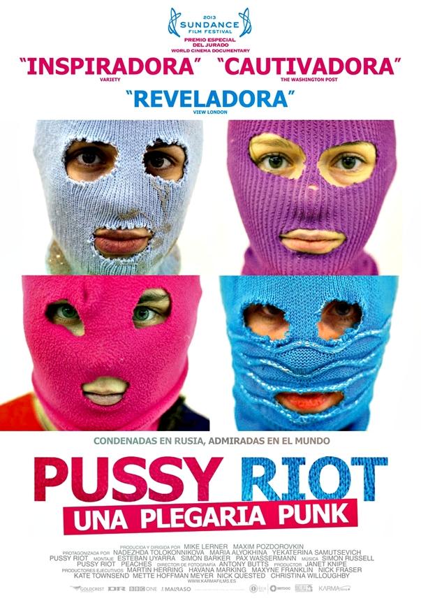 Pussy Riot: Un plegaria punk póster