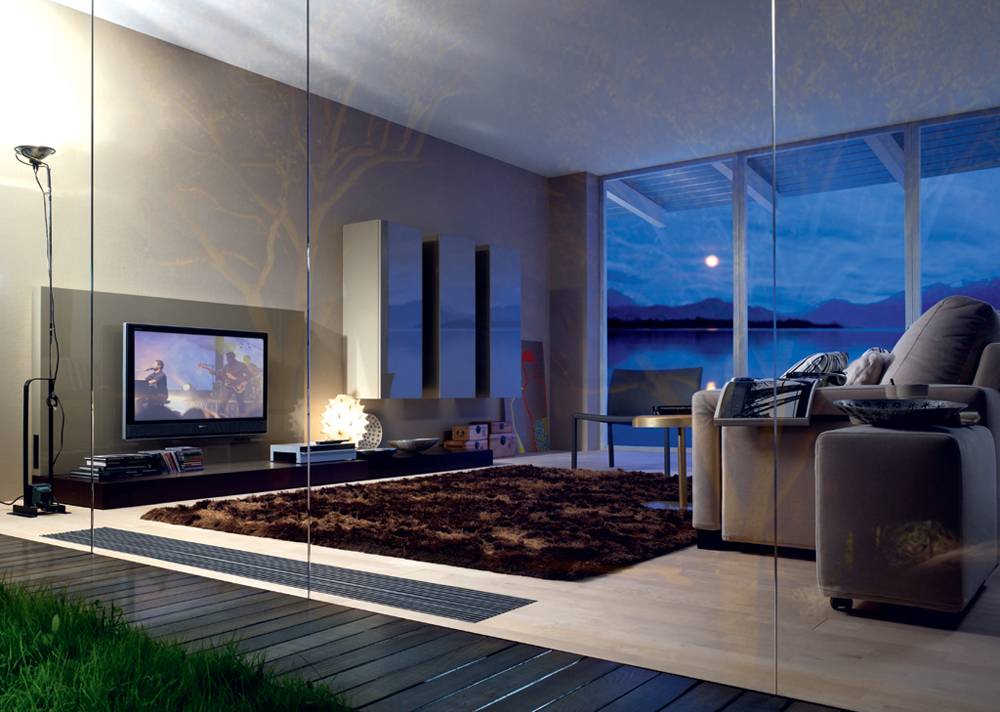 Salas de tv 7 picture car interior design for Salas modernas
