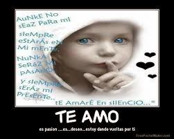 Frases De Amor: Te Amo Es Pasión Es Deseo Estoy Dando Vueltas Por Ti