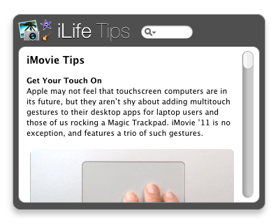 iLife Tips