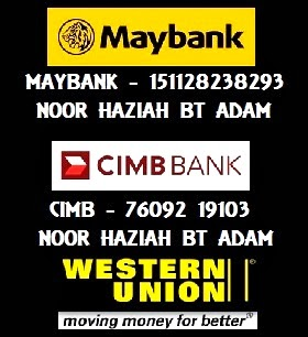 PAYMENT - CIMB & MAYBANK