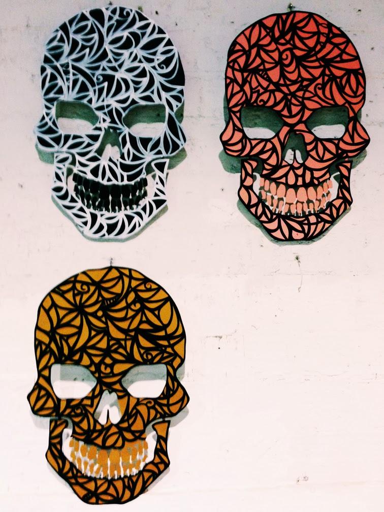 Alexander Mijares La Calavera series skulls Art Basel Miami 2013