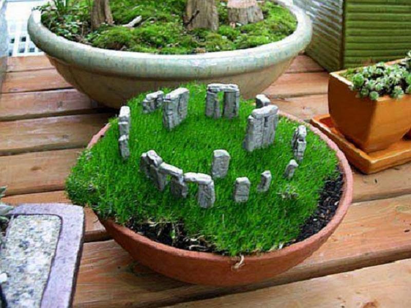 30 ideas creativas con plantas para decorar tu hogar y - Plantas para patio interior ...