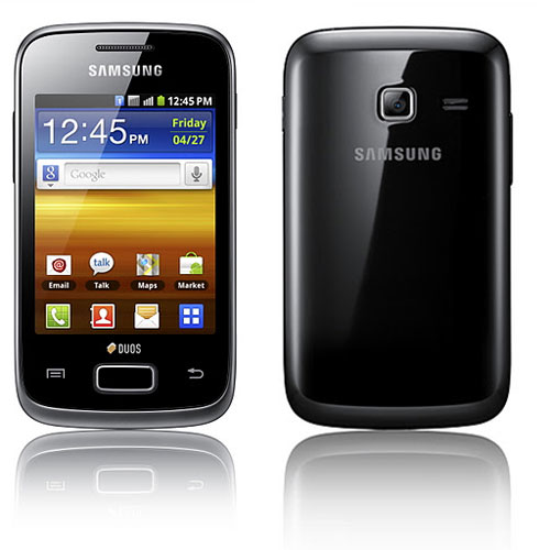 Samsung Galaxy Y Duos Dual SIM Price India, Features & Specifications