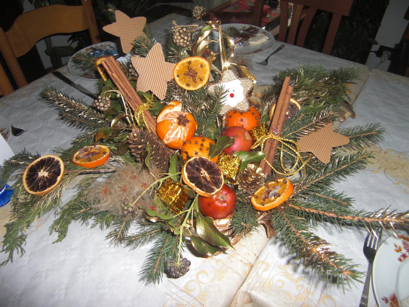 Kifi la cocinera idee per tavole di natale x mas tables for Tavole di natale