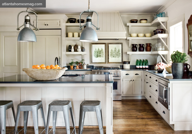 delight by design: kitchen crush {industrial + neutral