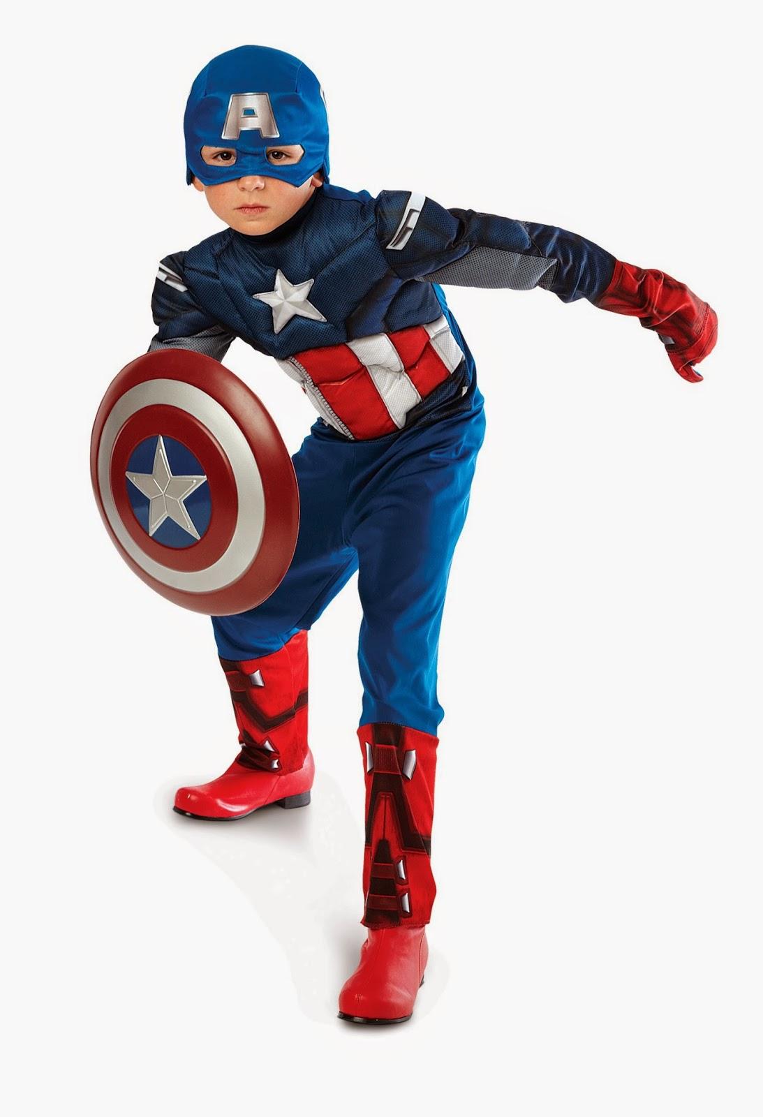 Capt America Kids Costume
