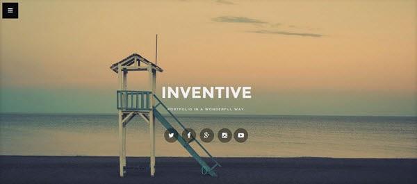 Inventive Blogger Portföy Teması