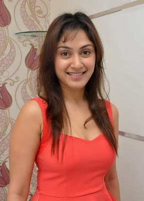 Manjari+(31) Manjari Phadnis Super Hot Photos in Red Dress At The Launch Of Naturals Family Salon & Spa