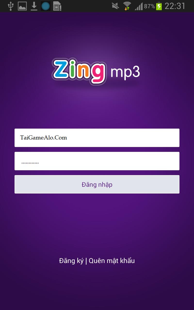 Tải Zing Mp3