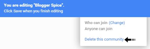 delete this community