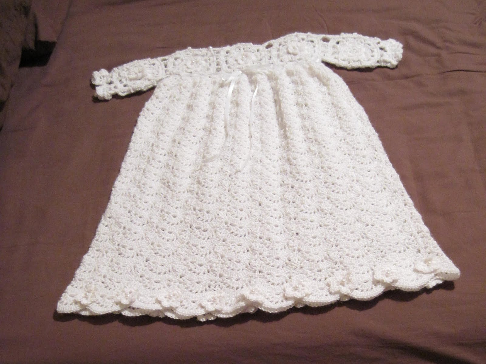 To Cut or Color: Granddaughter\'s Christening Gown