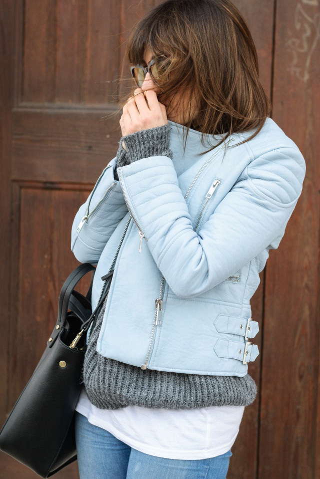 Blue Perfecto Look
