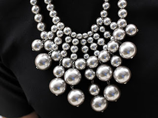 BaubleBar Silver Ball Necklace