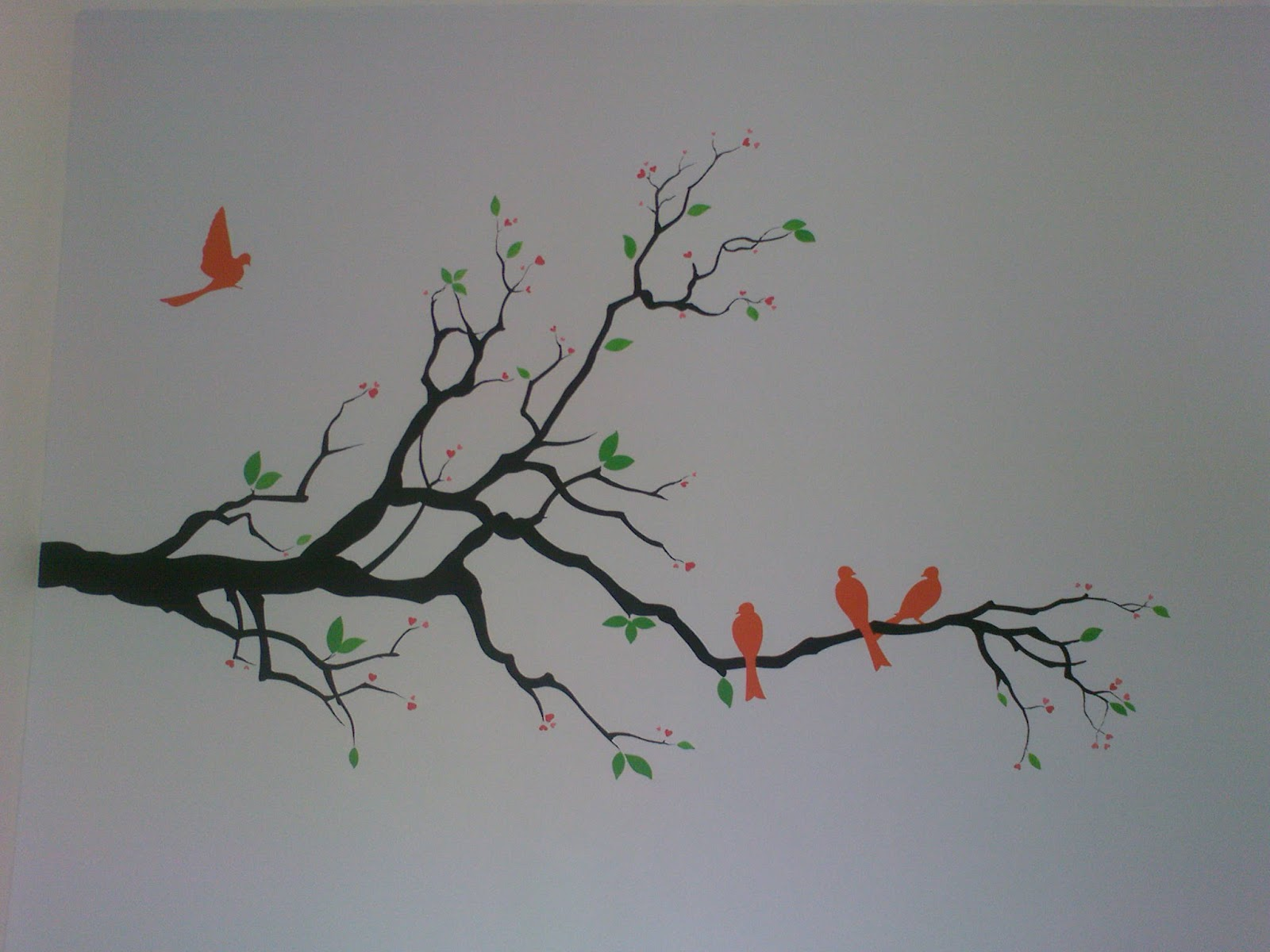 simple wall painting all about art