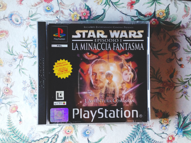PlayStation 1, PlayStation, PlayStation 3, Star Wars, Guerre Stellari, video game, videogioco, vintage, nerd, fantascienza, racconti, ricordi