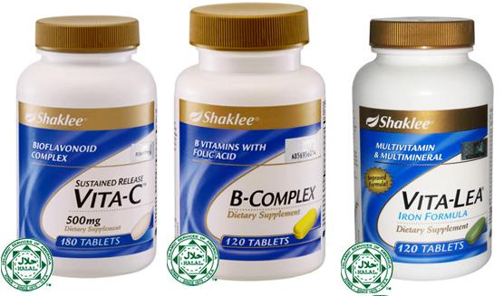 B-complex Dan Vitamin c