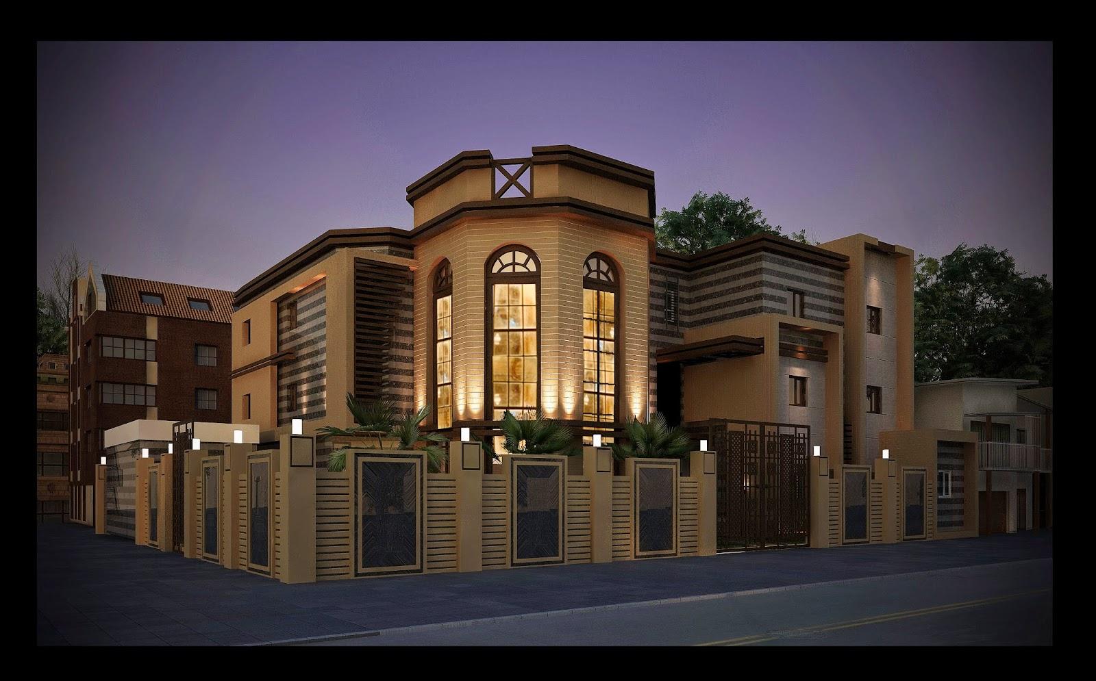 18 Facade Villa Moderne R 2 Aulnay Sous Bois Design