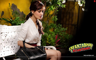 Jayantabhai Ki Luv Story HD Wallpaper Hot Neha Sharma