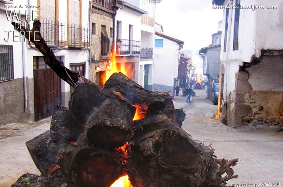 Fiesta del Fuego, Tornavacas. Valle del Jerte.