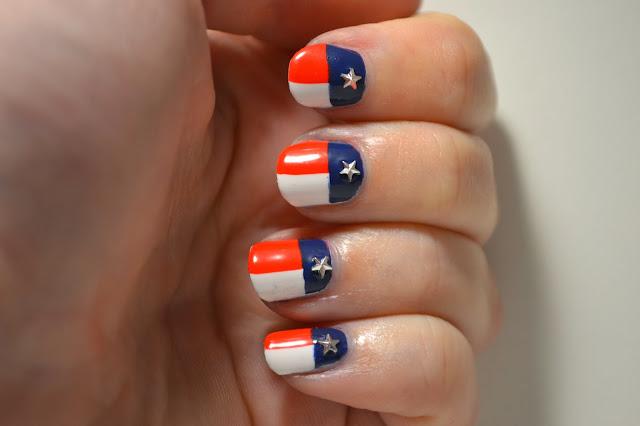 Texas Naglar av Elins Naglar