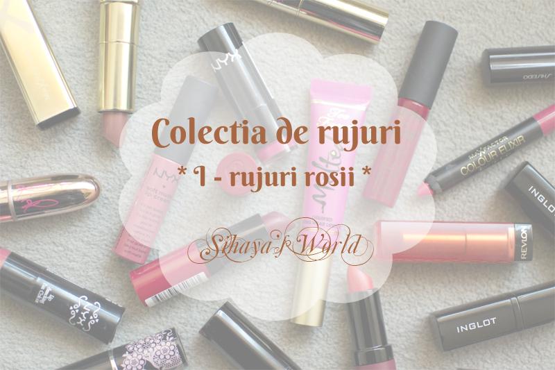 colectia de rujuri rosii Avon Flormar NYX MAC