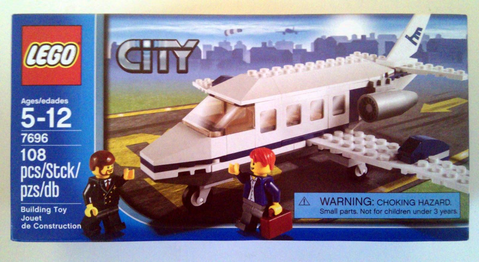 Lego 7696 Commuter Jet