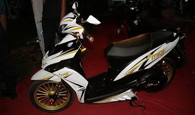 Yamaha Mio J Modification