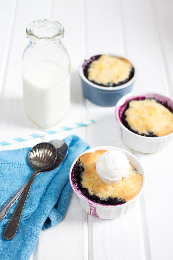 blueberry cornmeal cobbler - canadian living cover recipe