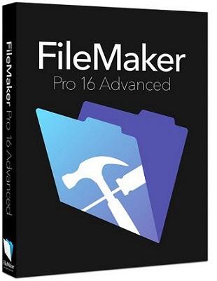 FileMaker Pro 16 Advanced 16.0.3.302 poster box cover