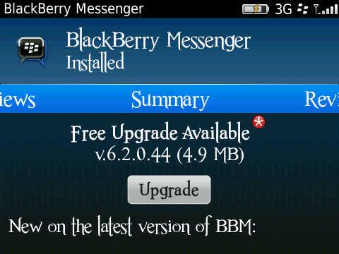 ... dan mendownload Aplikasi BBM (Blackberry Messenger) Versi Terbaru