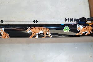 Tigers on my bike.