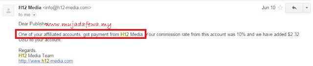 h12 media, pendapatan dalam usd untuk blogger