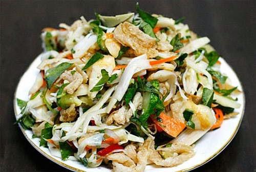 Gỏi măng tươi - Vietnamese Salad Recipes