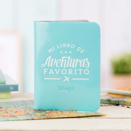 Funda de pasaporte Mr. Wonderful