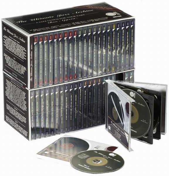 webstore jazz blues the ultimate jazz archive colecci n de 168 cds. Black Bedroom Furniture Sets. Home Design Ideas
