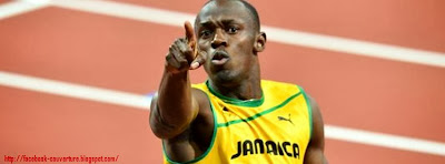 Couverture facebook usain bolt