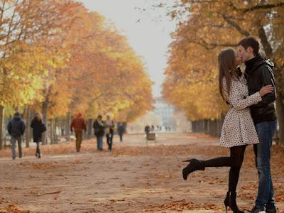 fotos de enamorados de paseo