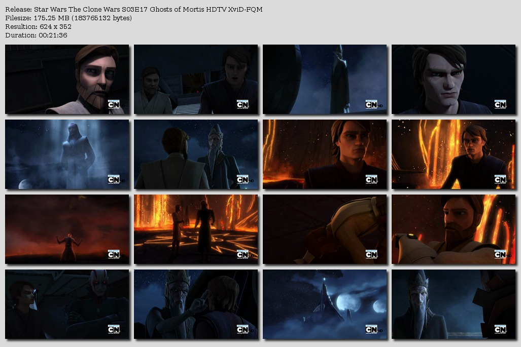 Star Wars The Clone Wars S03E17 Ghosts of Mortis HDTV XviD-FQM [eztv]