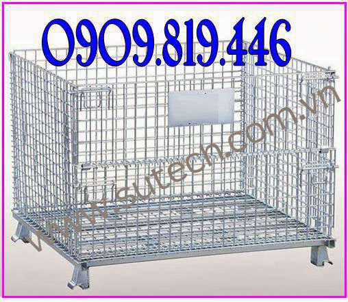 Long sat long thep long tru hang pallet luoi long thep xi ma wire container LH 0909819446 Oan