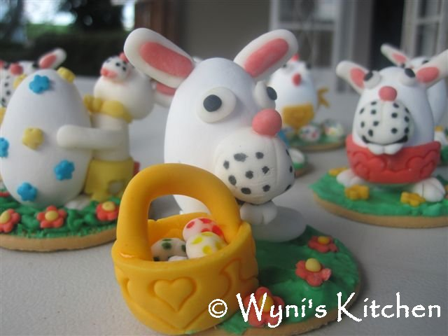 easter bunnies and chicks. easter bunnies and chicks and